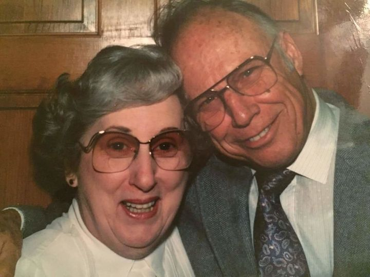 Bud and Doreen in their golden years.