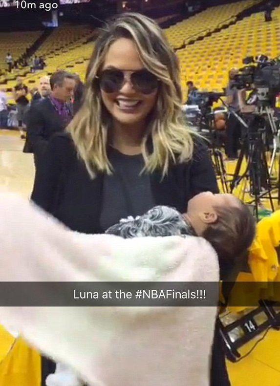 Chrissy Teigen Shares Candid Video Of Her Breastfeeding Baby