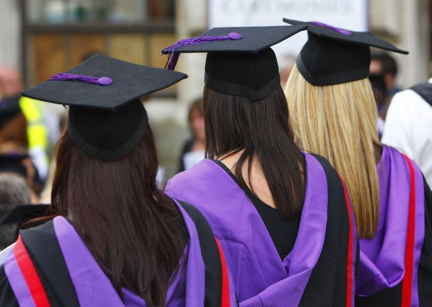 Young women are now far more likely to attend university than their