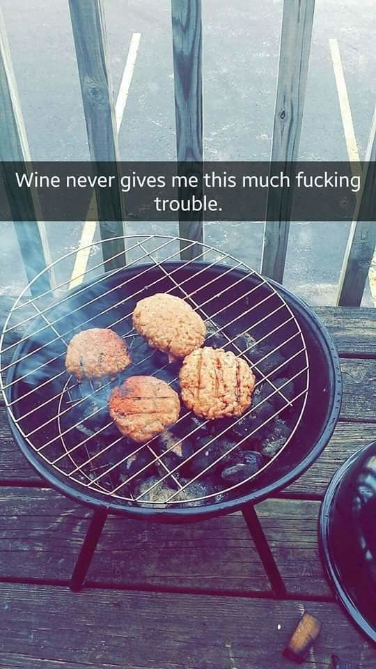 This Woman And Her Disastrous BBQ Attempt Is All Of Us This