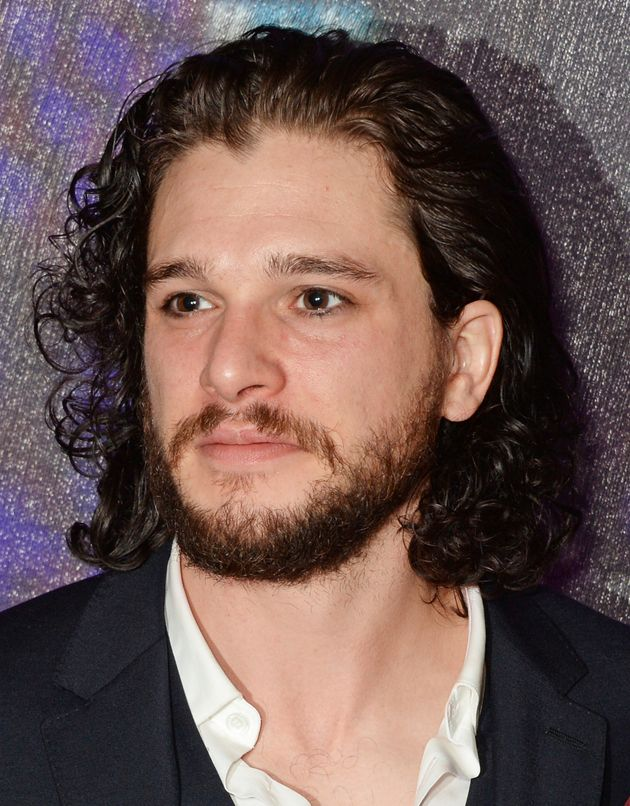 jon snow hair style kit harington has his beard and of 2435