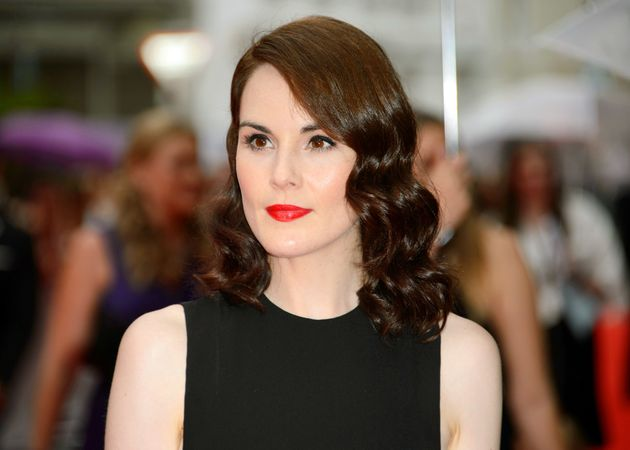Michelle Dockery already knows how to dance for the cameras, from her time on 'Downton