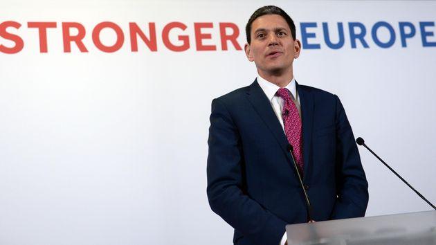 David Miliband Says It Is For Jeremy Corbyn To Explain His EU Referendum