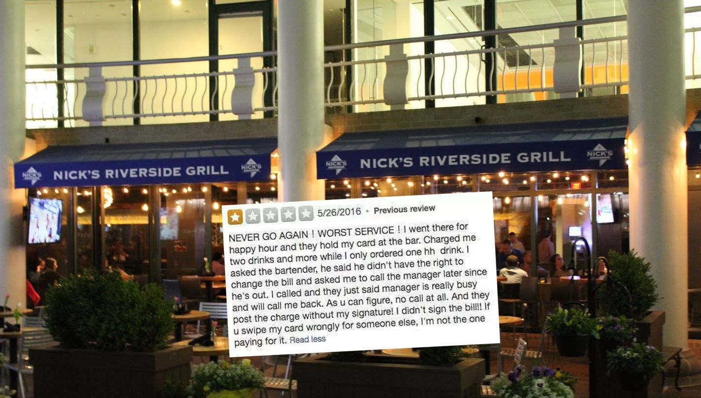 If You 'Poo On TheRestaurant Chairs', Best Not To Leave A Review Like