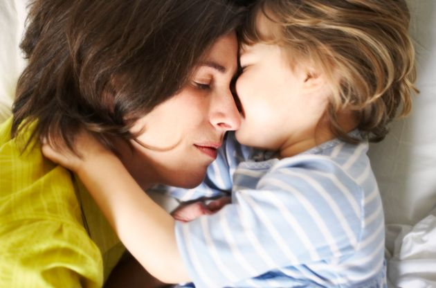 Why Childhood Cuddles Are So