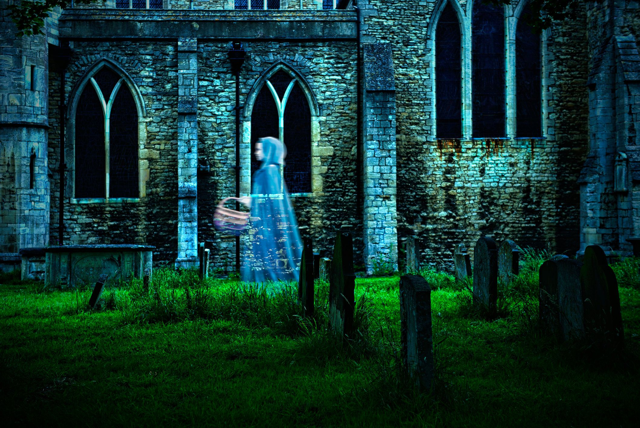 Ghost Hunters Search Hull Graveyard For Ghouls, Find Porn Shoot