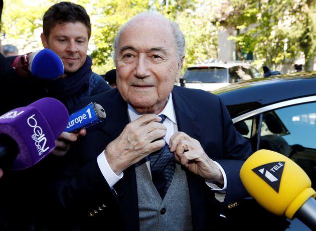Sepp Blatter, pictured,Jerome Valcke and Markus Kattner awarded themselves pay rises and World...