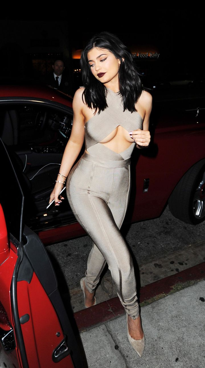 Kylie Jenner in West Hollywood, CA.