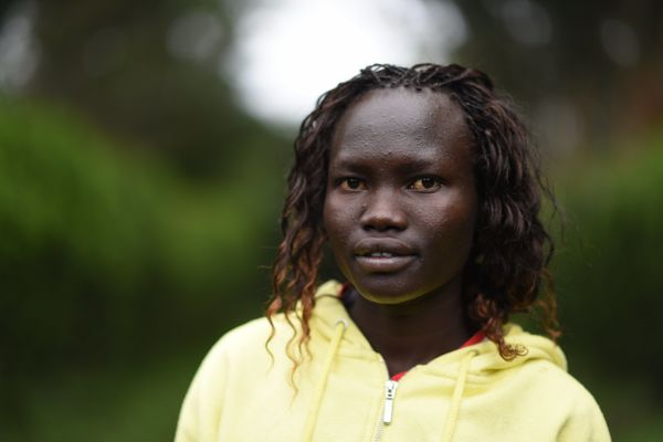 Also from South Sudan, Lokonyen arrived in Kenya in 2002. She will compete in the 800-meter event. Lokonyen had nev
