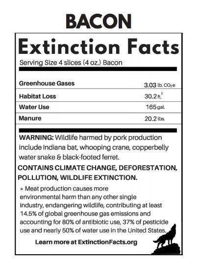 'Extinction Labels' Tell You How Your Food Choices Affect