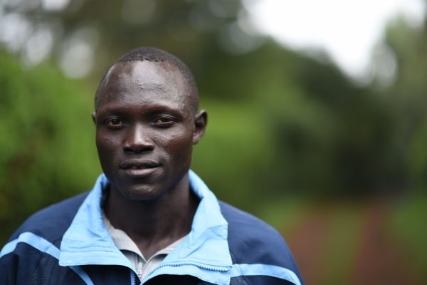 Only a few years ago, Lokoro was a young herder in South Sudan. He told UNHCR that he knew nothing of the worl