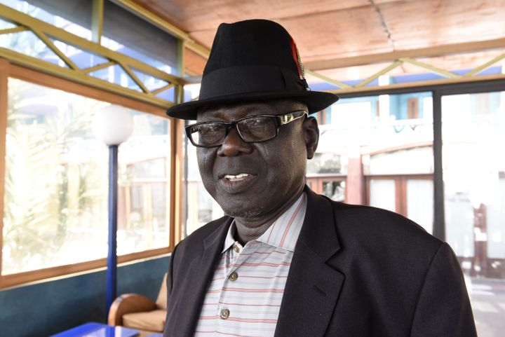 Souleymane Guengueng was tortured and held in Habré's jails for two and a half years. In his cell, he vowed he would o