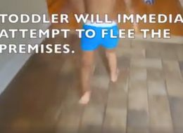 Perfectly Accurate Video Details Exactly 'How To Dress A Toddler'
