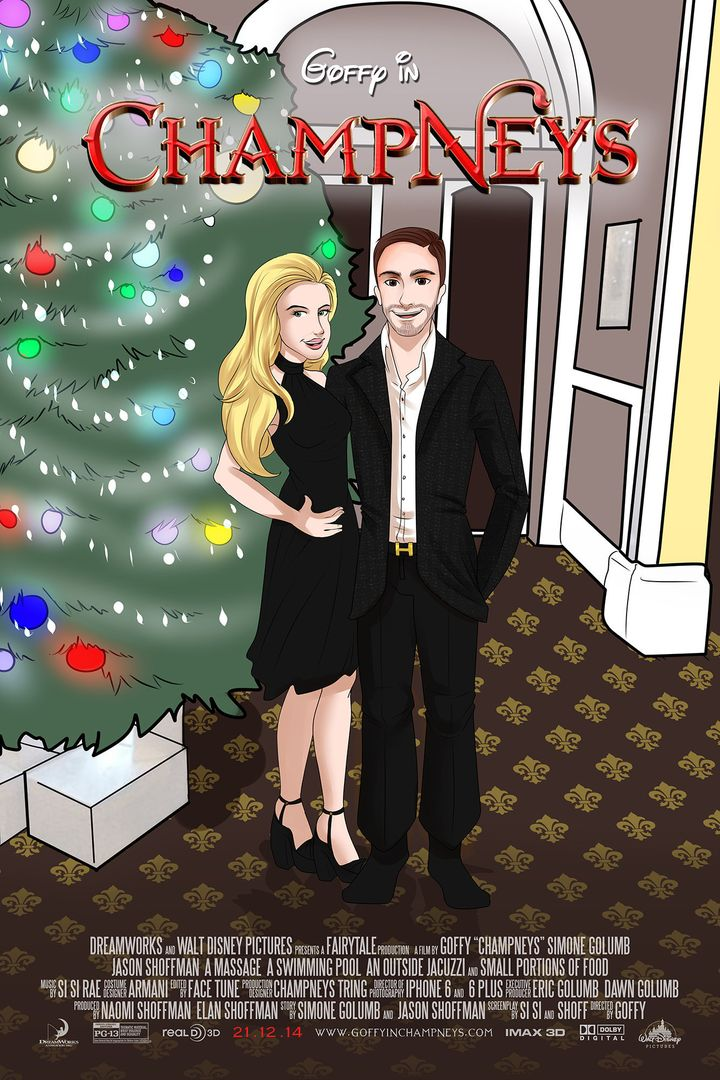 Jason and Simone are depicted at a health spa where they celebrated their one-year anniversary.
