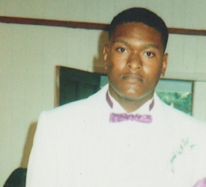 Samantha Barnes said Barron Victor Jr., pictured in this undated photo, was the love of her life.