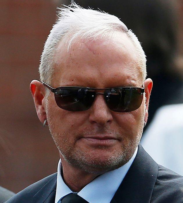 Paul Gascoigne pictured in