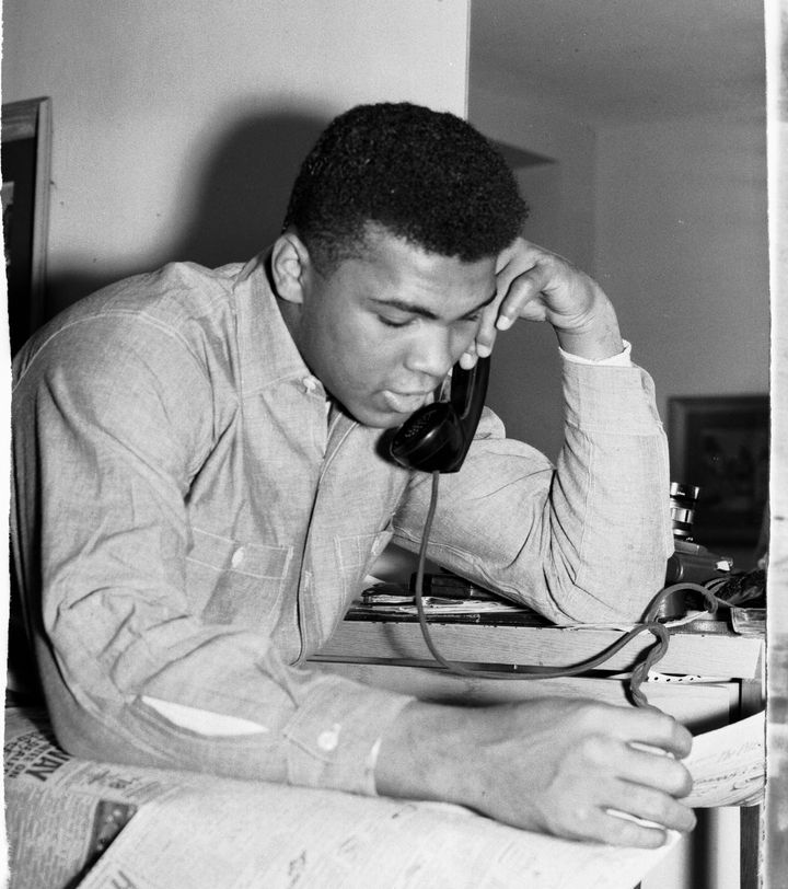 Declassified documents show that NSA listened in on Ali's international phone calls because he objected to the Viet