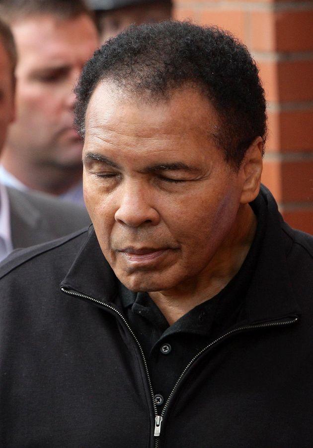 Muhammad Ali has died aged