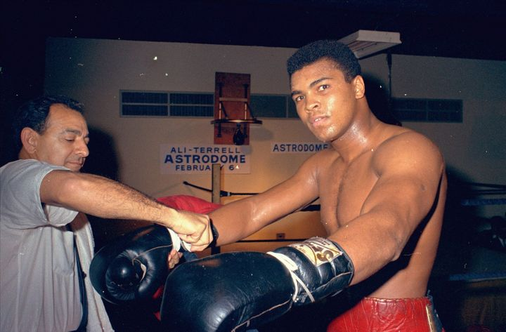 Muhammad Ali was inspired to get into boxing at age 12, when I kid stole his bike. Ten years later, he was the heavyweig