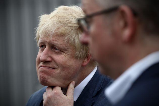Boris Johnson and Michael Gove at today's