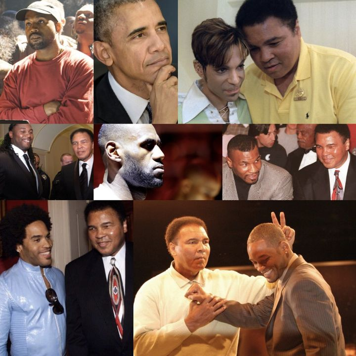 These successful black men have all been influenced by Ali.