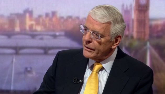 John Major Attacked As 'Vengeful' And 'Bitter' By Tory MP Jacob