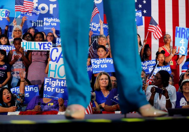 Clinton Hopes To Clinch Nomination In