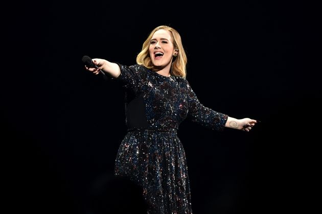 Adele pays silly tribute to the Spice Girls at Amsterdam show