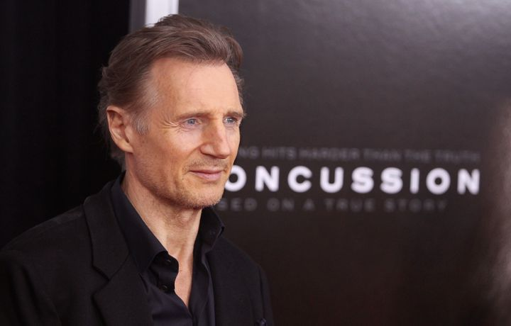 "Actor Liam Neeson says Muhammad Ali was his ""hero."""