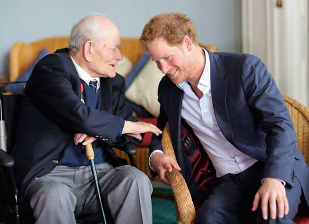 Prince Harry Was Schooled In Fashion By A 91-Year-Old