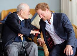 Prince Harry Was Schooled In Fashion By A 91-Year-Old Man