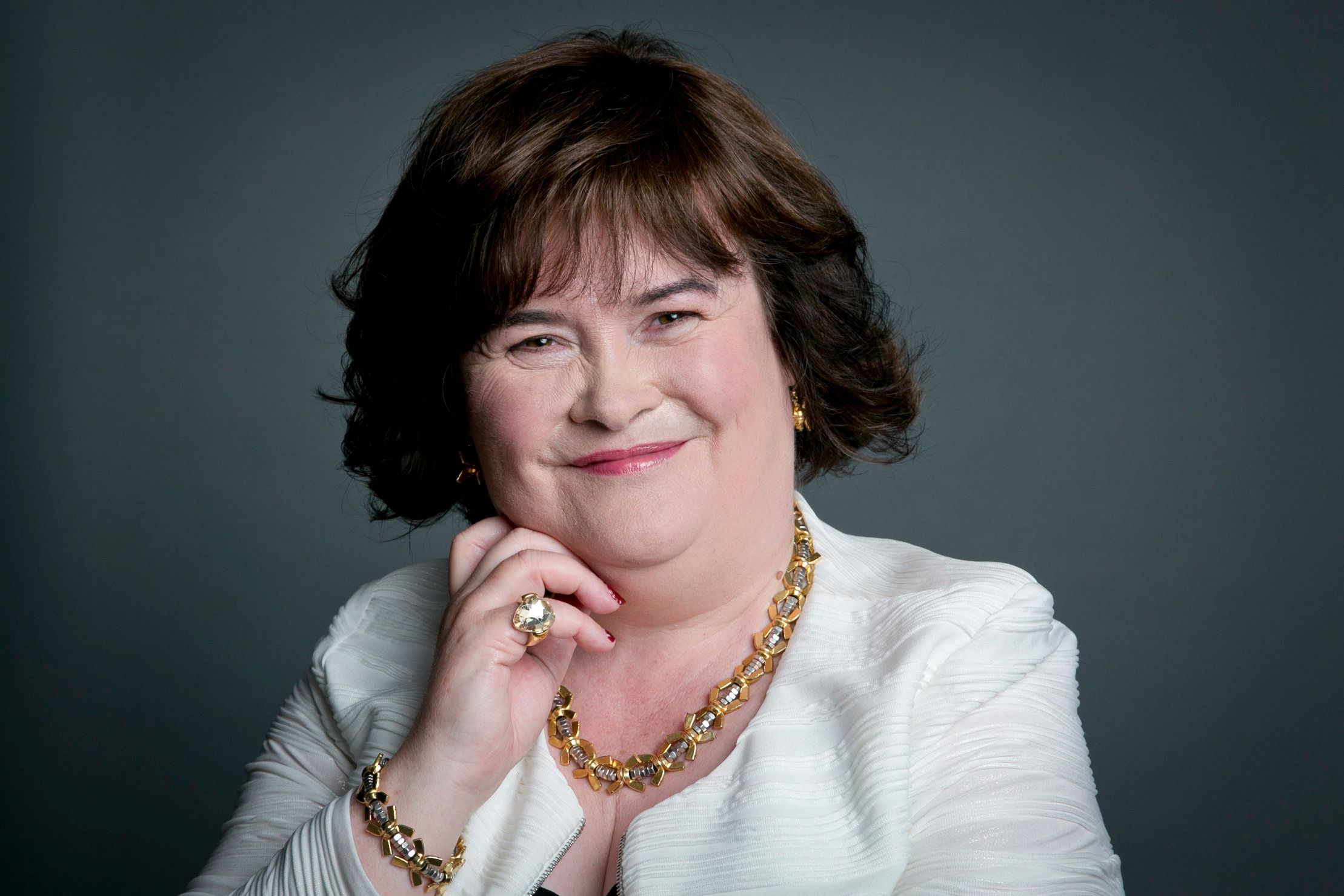 Susan Boyle Ends Two-Year Feud With Estranged