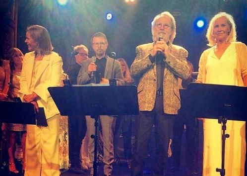 ABBA Make Their Fans' One Dream Come True