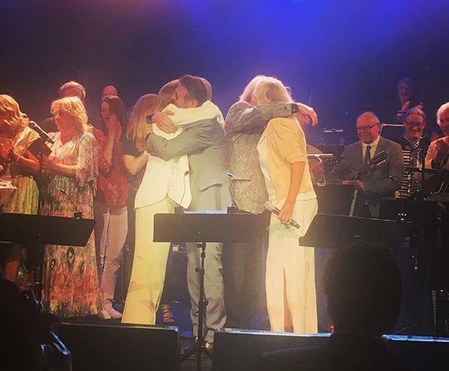 ABBA reunited after 30