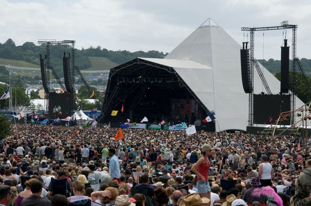 The Pyramid stage will play host to acts including headliners Coldplay, Adele and