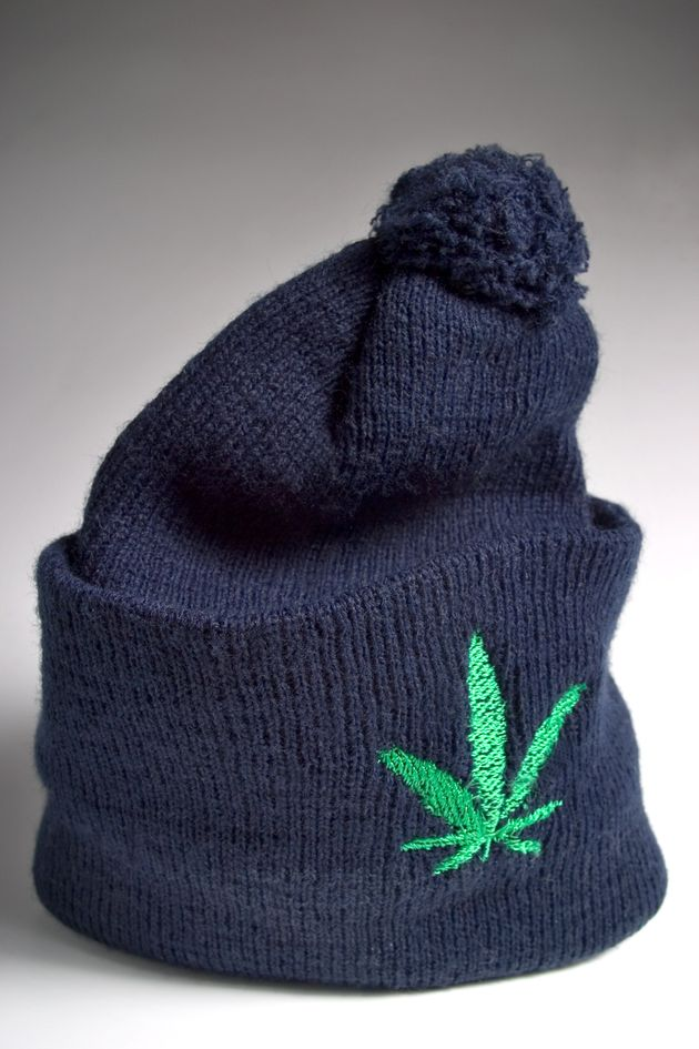 Pc Simon Ryan is facing a misconduct hearing for wearing a woolly hat with the slogan 'I love weed'...