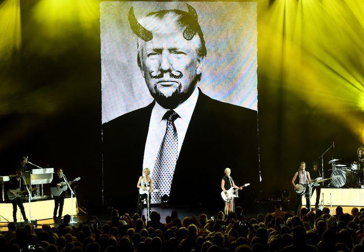 The Dixie Chicks perform onstage on June 1, 2016, in Cincinnati.