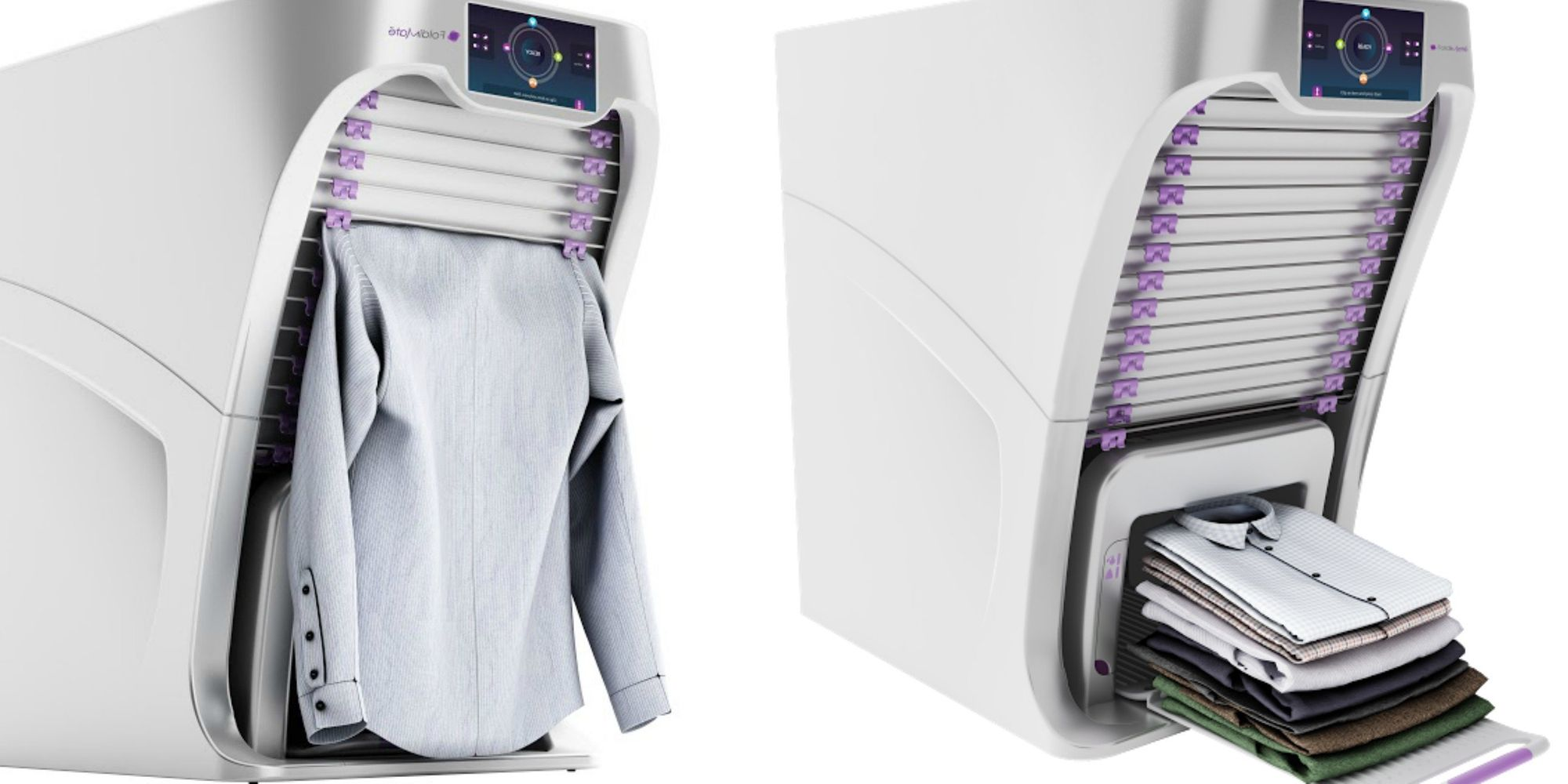 This Magical Laundry Folding Machine Will Never Hang You Out To Dry