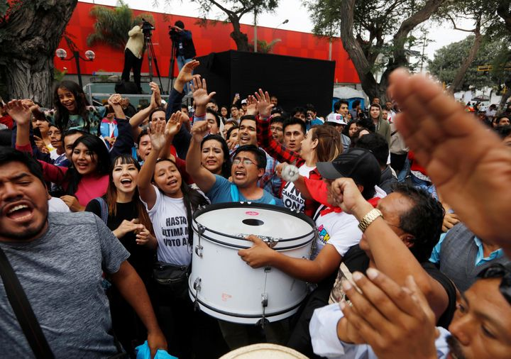 Final results in what appeared to be Peru's closest election in at least three decades areexpected later on Monday.