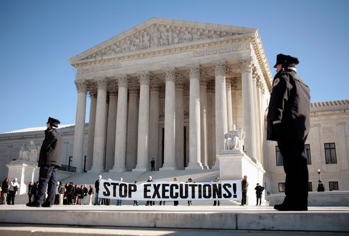 It looks like the Supreme Court won't bereviewing one of thepressing issues involving the death penalty today.