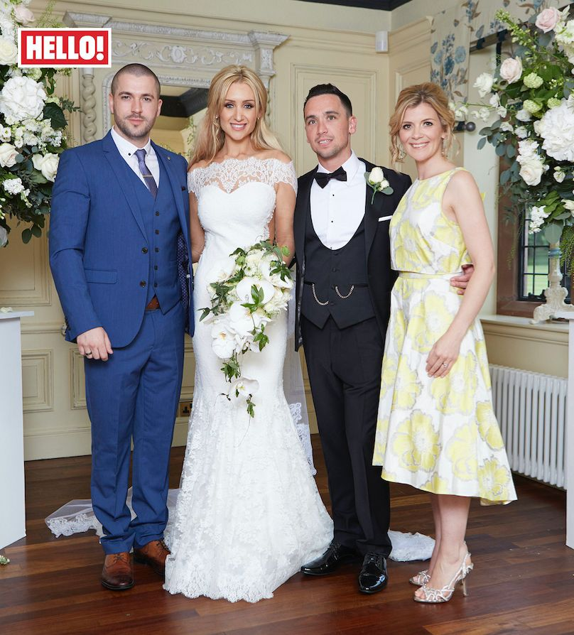 Catherine Tyldesley Reveals Stunning Wedding Dress By Philip