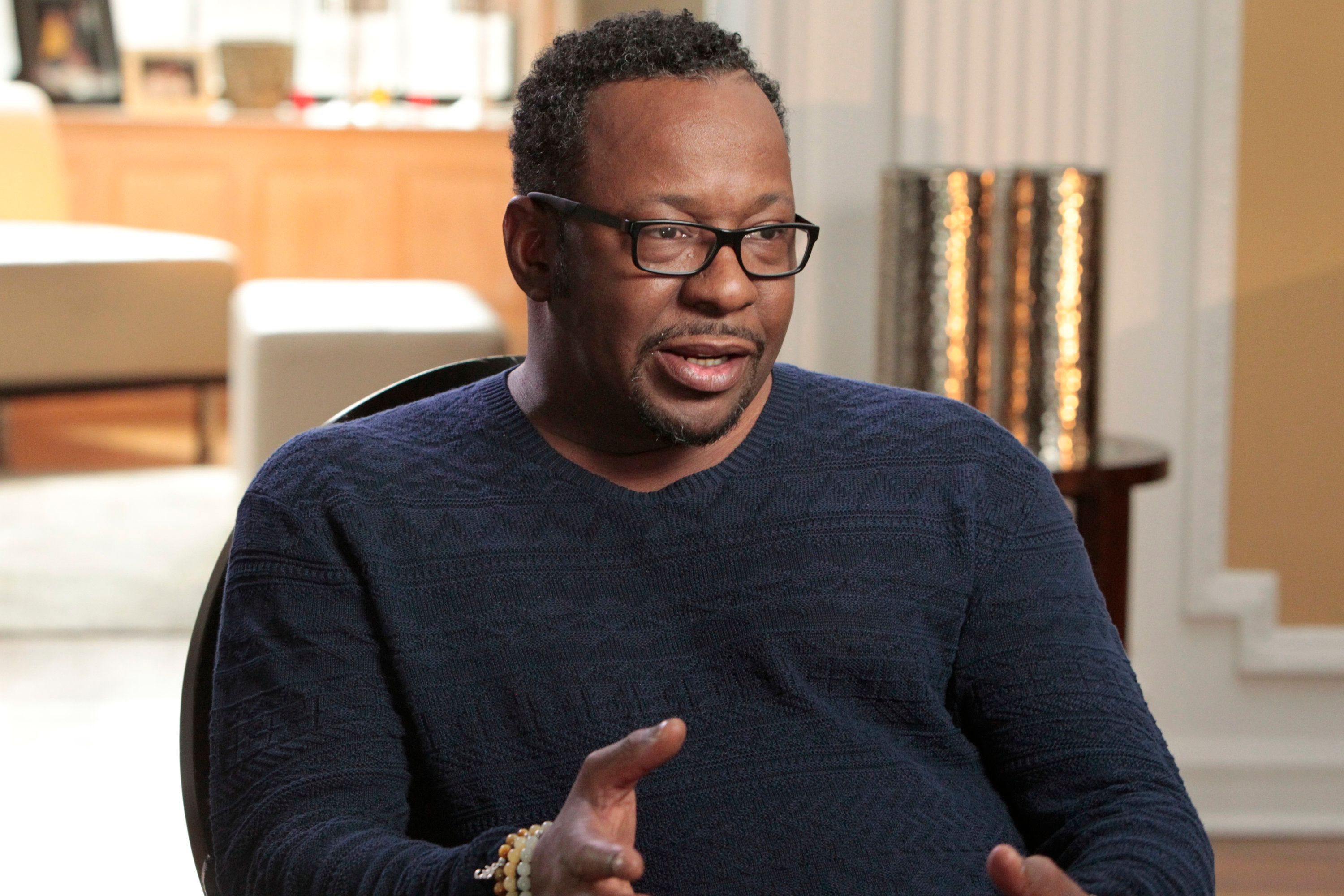 20/20 -  In his memoir 'Every Little Step' which will be released in June, Bobby Brown writes about his decades-long successful music career and opens up about plans for the future.    Brown sits down with ABC News Robin Roberts for an exclusive interview discussing at length the truth about his journey. which will air as a special edition of 20/20 on TUESDAY, JUNE 7 (10-11pm, ET) on the ABC Television Network.   (Photo by Rick Rowell/ABC via Getty Images)   BOBBY BROWN