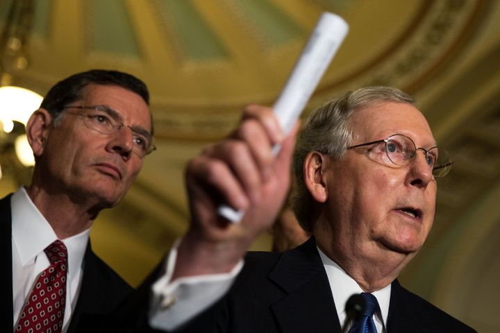 Senate Majority Leader Mitch McConnell refuses to hold hearings on a new Supreme Court justice, despite broad support to do s