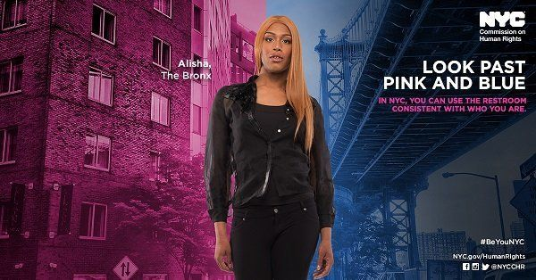 The citywide campaign puts the spotlight on transgender New Yorkers, including Alisha King from the Bronx.
