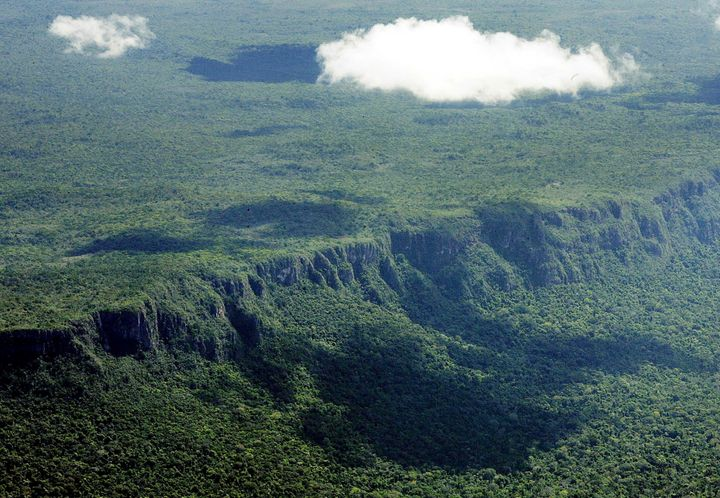 Mato Grosso State in the Amazon jungle, one of the Brazilian states of greatest deforestation.