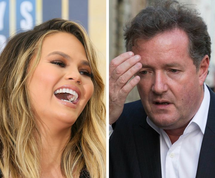 "For the remake of 2004's  ""You Got Served,"" we present Chrissy Teigen and Piers Morgan."