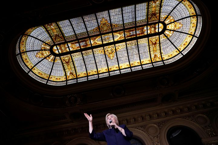 Democratic presidential candidate Hillary Clinton is seen as likely to favor the wealthy.