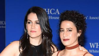 WASHINGTON, DC - APRIL 30:  Comedians Abbi Jacobson (L) and Ilana Glazer attend the 102nd White House Correspondents' Association Dinner  on April 30, 2016 in Washington, DC.  (Photo by Larry Busacca/Getty Images)