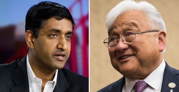 Democrats Ro Khanna and Rep. Mike Honda are once again battling to represent California's 17th District.