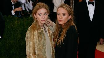 NEW YORK, NY - MAY 02:  Mary-Kate and Ashley Olsen attend 'Manus x Machina: Fashion in an Age of Technology', the 2016 Costume Institute Gala at the Metropolitan Museum of Art on May 02, 2016 in New York, New York.  (Photo by Taylor Hill/FilmMagic)
